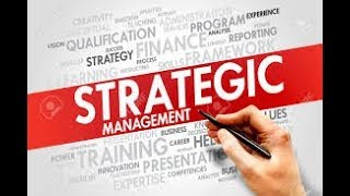Strategic human resource management ...