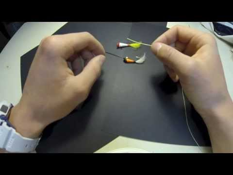How to tie two jigs on one line