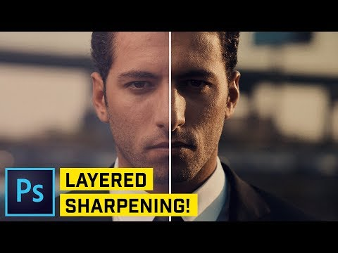 Get The BEST Sharpening EVER In Photoshop CC!