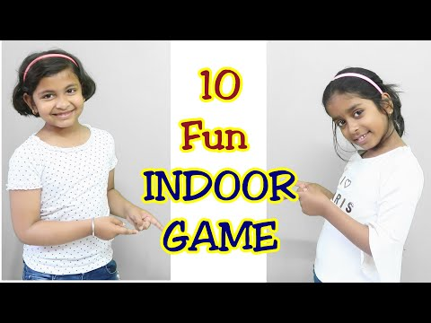 10 Fun INDOOR GAME FOR KIDS../10 Awesome fun Indoor Game /keep kids busy at home