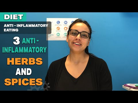 3 Anti- inflammatory Herbs and spices