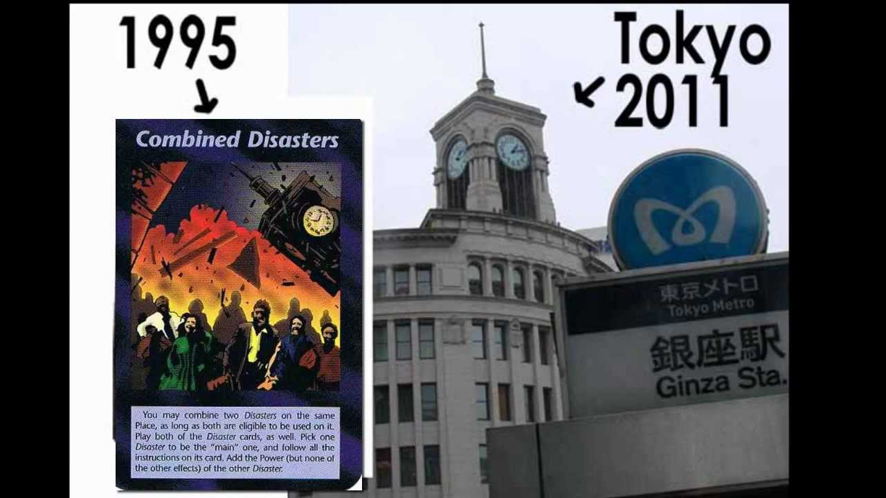 '95 Illuminati Card Game Predictions Every The Event Our Future And Past