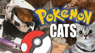 Pokémon Cats - Podcast Highlights (Halo 3 Machinima)