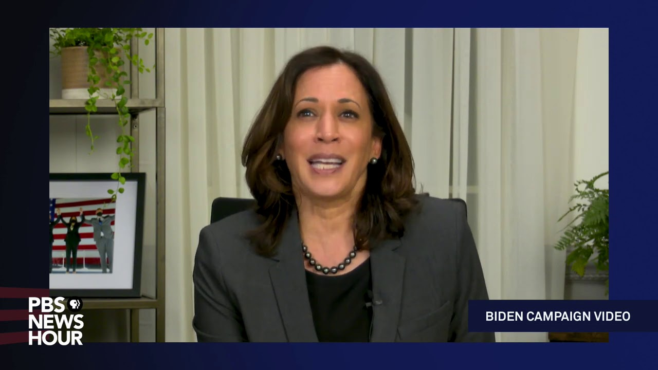 Kamala Harris urges Americans to vote in Biden campaign video