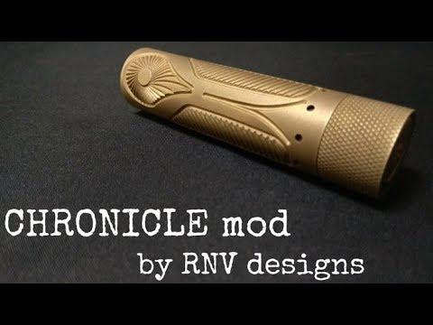 Chronicle mech mod by RNV Designs كرونيكل ميك مود من شركة آر أن ڤي ديزاين