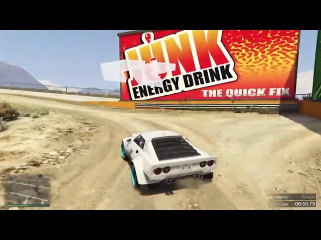 GTA Online Race: Redwood Lights Loop RX - link in description