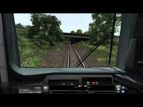 Class 166 Cab View: Felixstowe Town to Ipswich