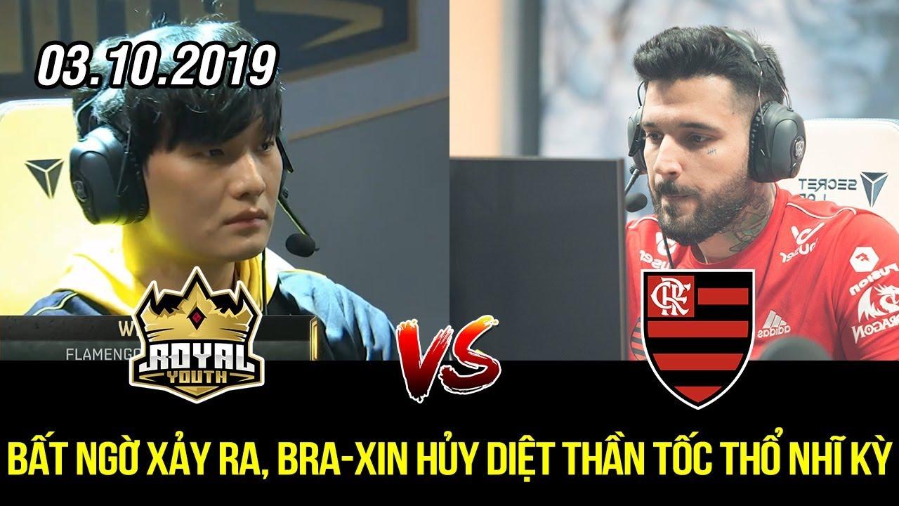 [CKTG 2019 Play-in] RYL vs FLA Highlights | Càn quét thần tốc, Bra-xin gây bất ngờ hủy diệt Thổ