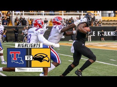 Louisiana Tech vs. Southern Mississippi Football Highlights (2018) | Stadium