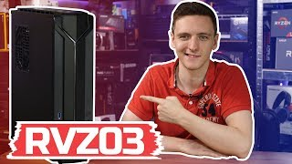 Console sized PC case - Silverstone RVZ03 Review