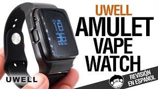 ¿VAPEANDO CON EL RELOJ? Uwell Amulet / El VAPE WATCH / revisión