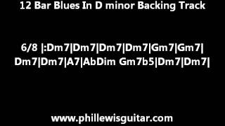 12 Bar Blues Backing Track In D Minor