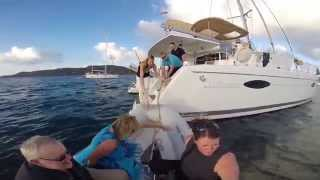 BVI Catamaran Sailing