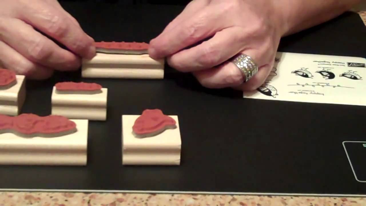 How to Mount Wood Block Rubber Stamps - KreatesKards ...