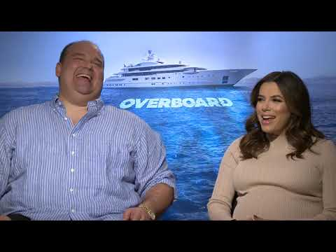 Eva Longoria and Mel Rodriguez Talk About OVERBOARD