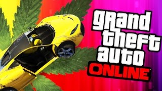 GTA 5 Online - GETTIN' HIGH!