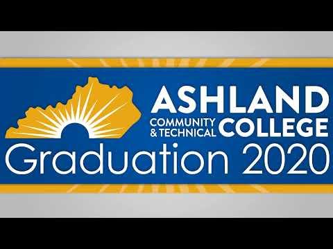 Ashland Community and Technical college Graduation 2020