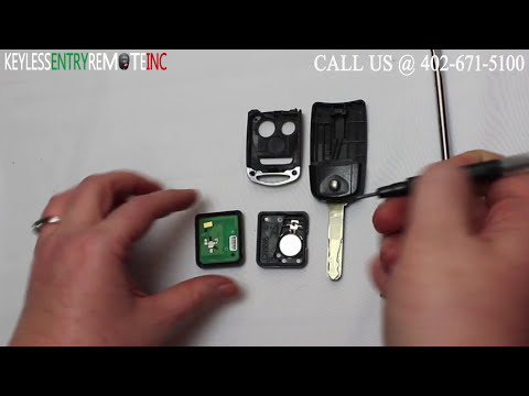How To Replace An Acura RDX Key Fob Battery 2007 – 2009 FCCID: N5F0602A1A