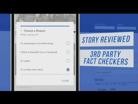 Facebook monitors fake news