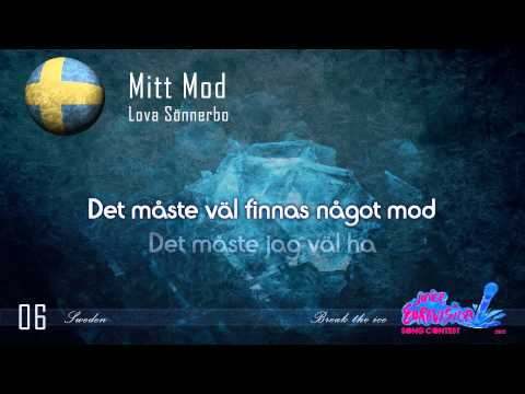 "Lova Sönnerbo ""Mitt Mod"" (Sweden) - [Karaoke version]"
