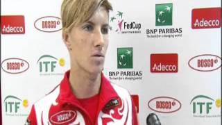 Fed Cup Interview: Svetlana Kuznetsova