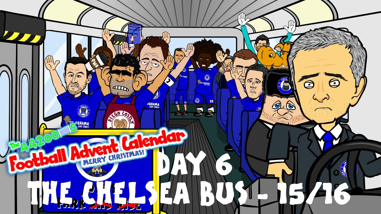 The Chelsea Bus 2015 2016 Day 6 Football Advent