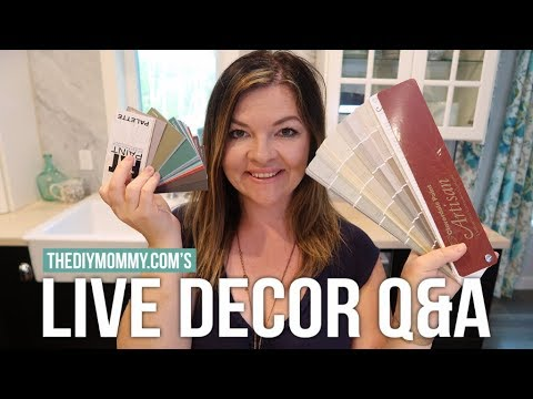 Live Chat: Answering Your Decor Questions | Vlogust Day 15