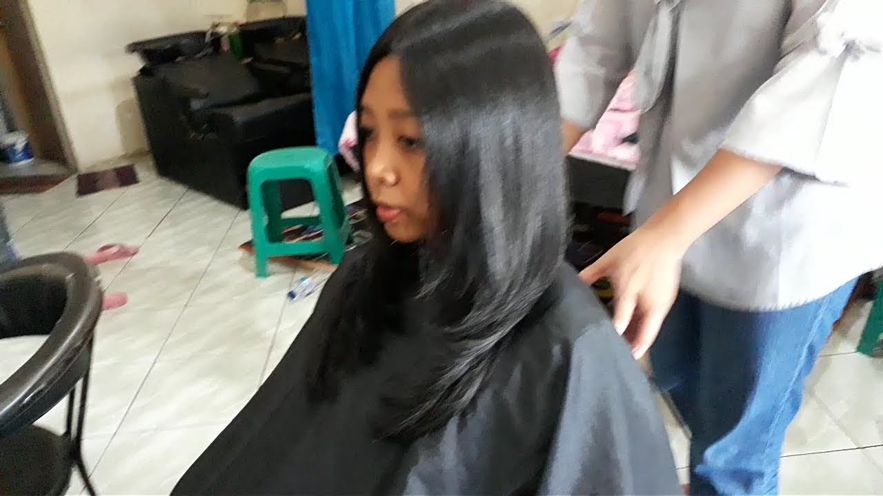 Potong Rambut Segi Layer Youtube