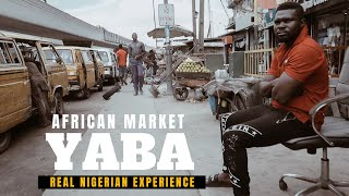 LIFE IN LAGOS || NIGERIAN MARKET SHOPPING