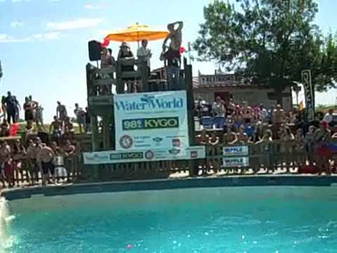 KYGO 2009 Belly Flop at Water World