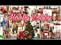 HOBBY LOBBY SHOP WITH ME CHRISTMAS 2019
