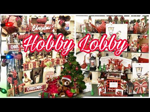 HOBBY LOBBY SHOP WITH ME CHRISTMAS 2019