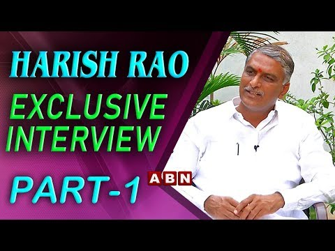 TRS Leader Harish Rao Exclusive Interview on Telangana Elections | Part 1 | ABN Telugu