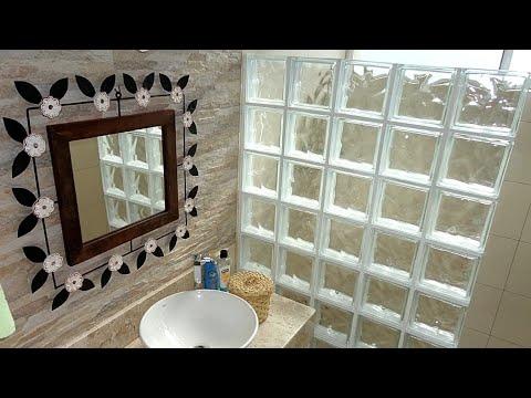 Top 10 Bloco De Vidro No Banheiro //top 10 Glass Block In The Bathroom