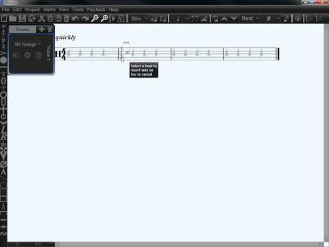 Micro-Tutorial: Changing Tempo of Music in Musink free music notation software