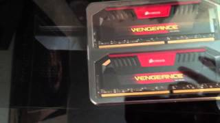 Corsair Vengeance Pro RED 16GB 2x8GB 2400MHz kit Unboxing