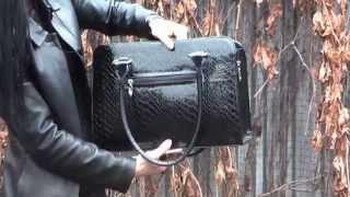 Черная лаковая сумка принт варан 1340ln3(Стильная сумка классического дизайна http://styleline-opt.com/sumki-zhenskie-optom-ves-assortiment-fabriki/243-chernaya-modelnaya-sumka-.html ..., 2015-11-06T21:30:01.000Z)