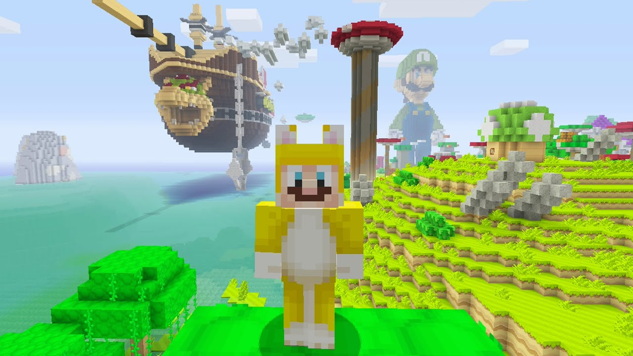 Minecraft Super Mario Edition Bowsers Airship YouTube - Minecraft mario spiele
