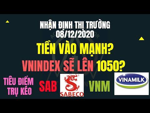 Chứng khoán hôm nay Nhận định thị trường:8/12:Luân phiên Kéo Trụ - Vnindex sẽ lên 1050?