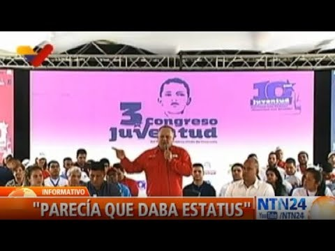 Diosdado Cabello dice que la migración se convirtió en moda