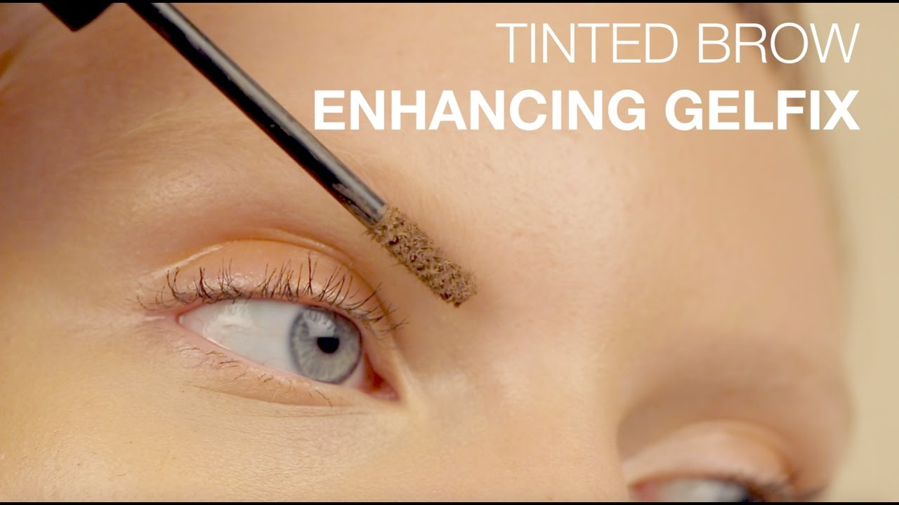 How To Tinted Brow Enhancing Gelfix With Madison Youtube