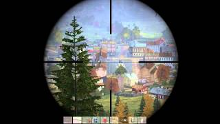 DayZ StandAlone 1 shot in the head=one kill ~900m / ~900 метровый хедшот. Всего 1 выстр