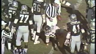 1974   AFC Championship   Raiders 13 vs Steelers 24 with commercials