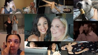 VLOG | Mommy Parole - Sam's here! Drinking, dancing, mustache shaving, crying, and murder guns!