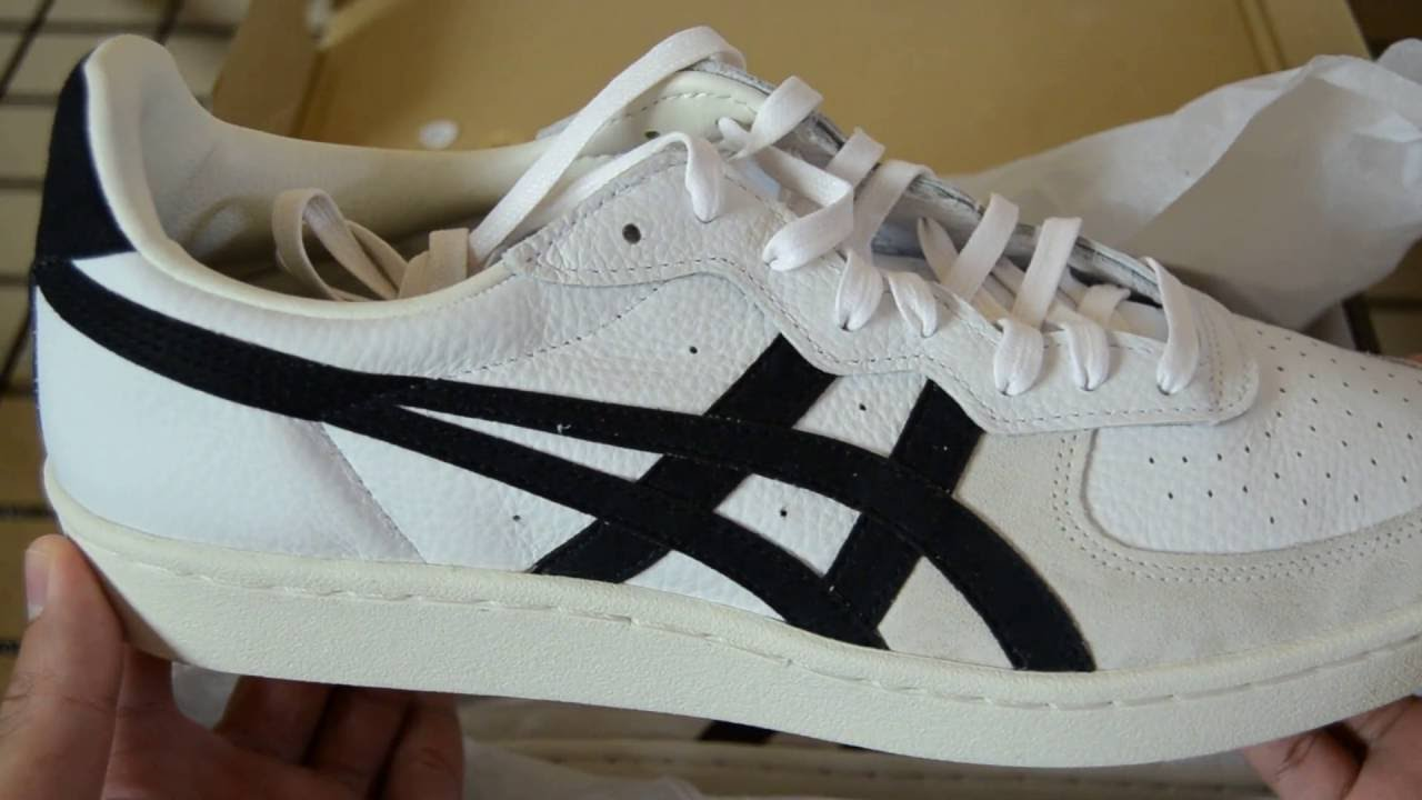 official photos 6f658 556ba Onitsuka Tiger GSM White/Black (Unboxing)