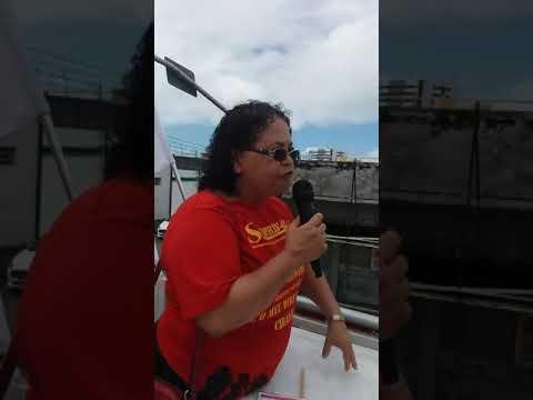 Diretora do SINDPREV-AL Olga Chagas denuncia governo Bolsonaro