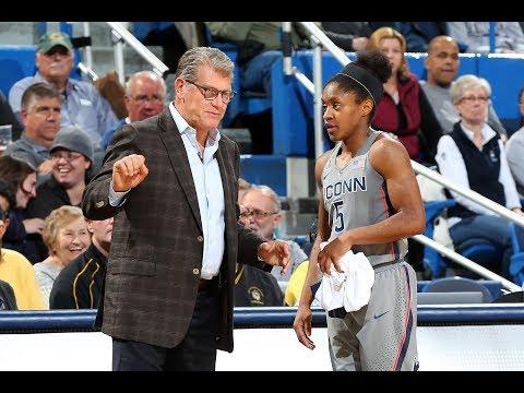 Women's Basketball Highlights - #1 UConn 88, Oklahoma 64