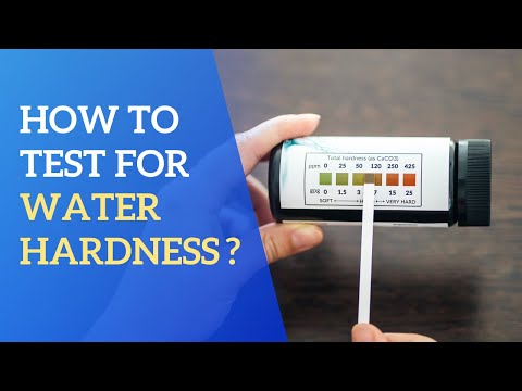 Water Hardness Test Strips - How To Test For Water Hardness?