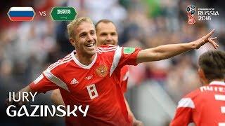 Iury GAZINSKY (RUS) - GOAL 1 v Saudi Arabia - MATCH 1