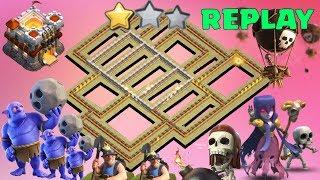 NEW TH11 War Base 2018 Anti 1 Star/Anti 2 Star With Replay Anti Bowler Anti Miner Anti Everything